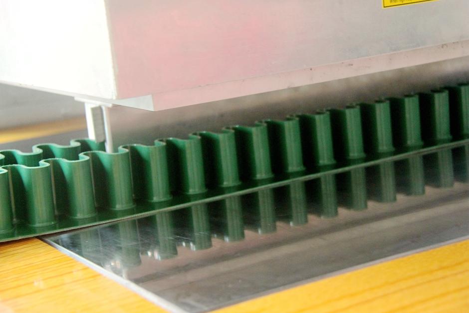 Operating procedures of the new HF welding machine