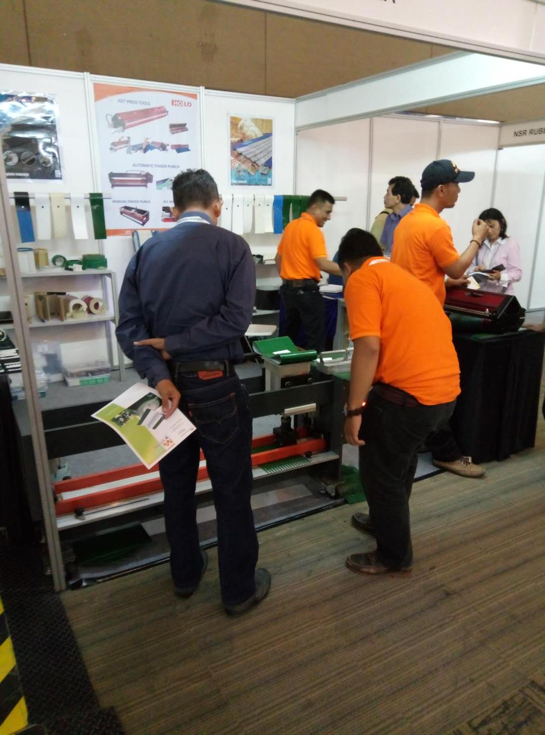 2017 International Plastic &Rubber Machinery ,processing ,Material Exhibition in Indonisia