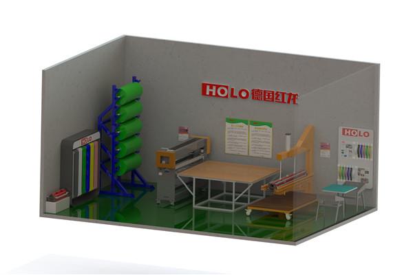Holo Launch entire conveyor belt workshop solution